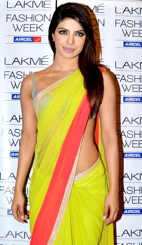 Priyanka Chopra at the Lakme Fashion Week Day 1 #Bollywood #Fashion #LFW