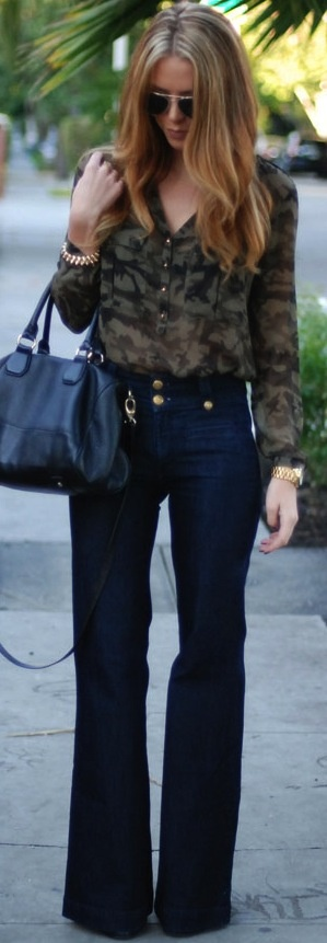 Love this! If only I could pull off high waisted jeans :(