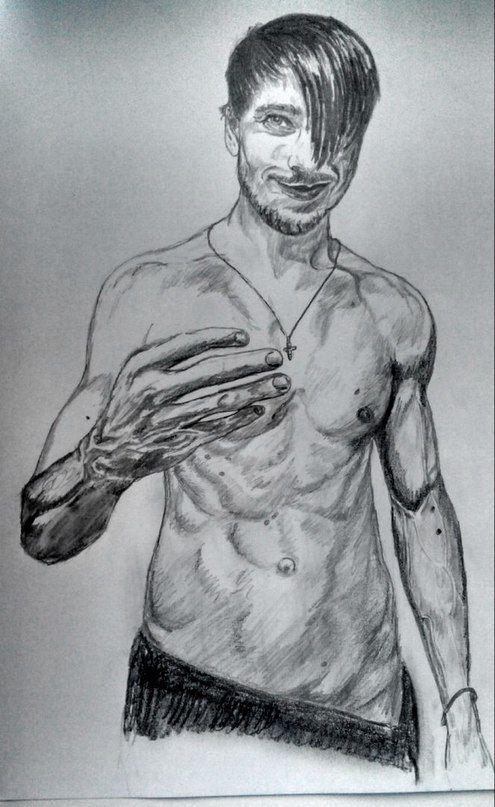 заказ рисунка карандашом с фото в москве итоге олега назарова