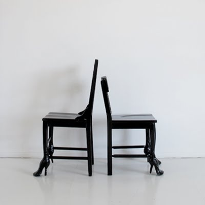 ERIN FLANNERY - The chair that came out of the closet.