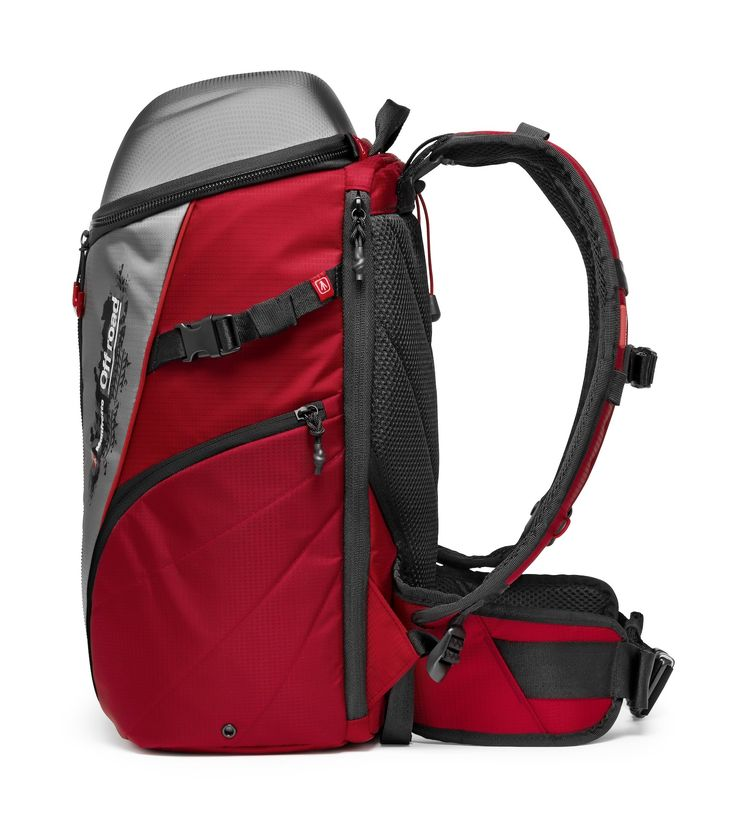 #Manfrotto Off road Stunt Bag red and grey. CSC #camera #backpack