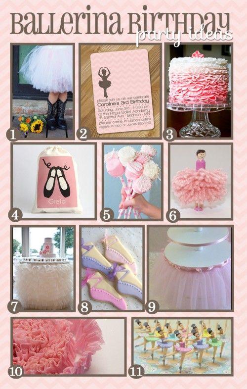 107 best Ballet Party Ideas images on Pinterest Ballerina cakes