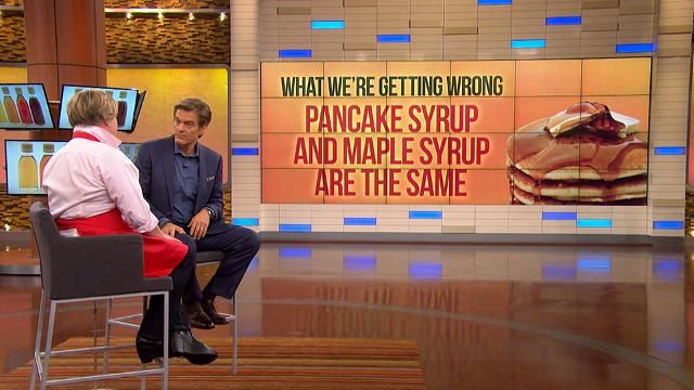 Sneak Peek: What Is Real Maple Syrup?: Dr. Oz explains how maple syrup is made and what the difference is between real maple syrup and pancake syrup.