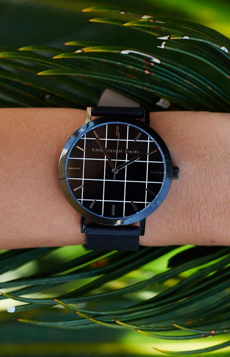 The Strand Grid Watch