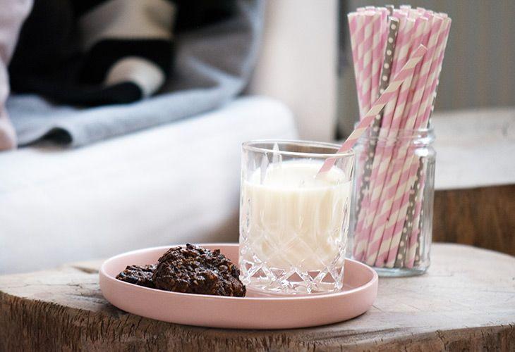 Cookies med sorte bønner og chokolade