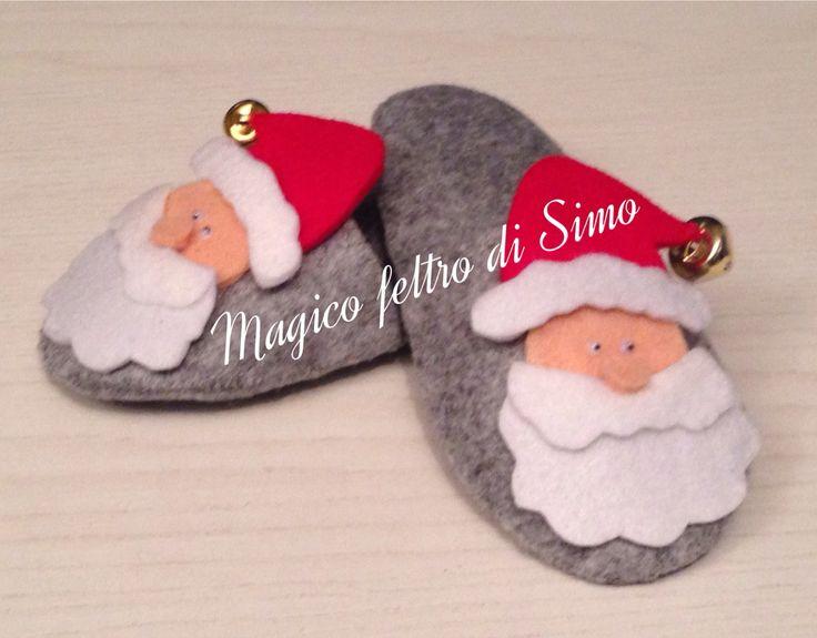 Ciabatte Babbo Natale