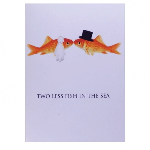 two less fish in the sea koozie bing images wedding