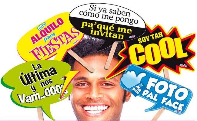 PAQUETES CON 5 LETREROS PAL HUATEQUE MENUDEO $45 PESOS MAYOREO $40