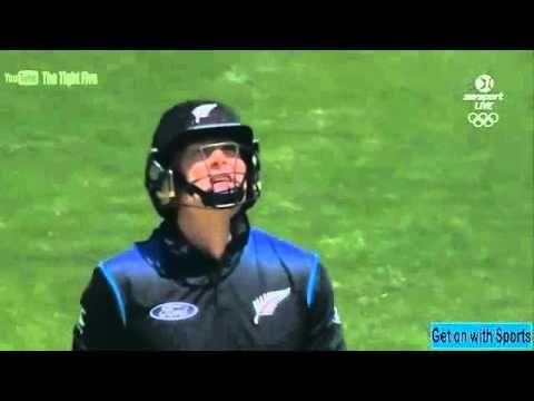 Martin Guptill Massive Six Against Australian at Eden Park - New Zealand...