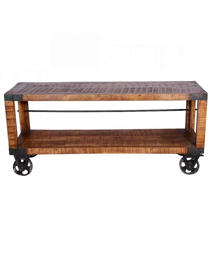 Ironwood - Table With Bar On Wheels | Home Office Furniture - Easterly