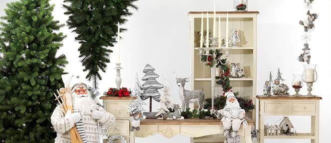 Articoli natalizi | Fiori secchi, fiori e piante artificiali, decori natalizi e pasquali vetrinistica | Bianchi Dino Srl