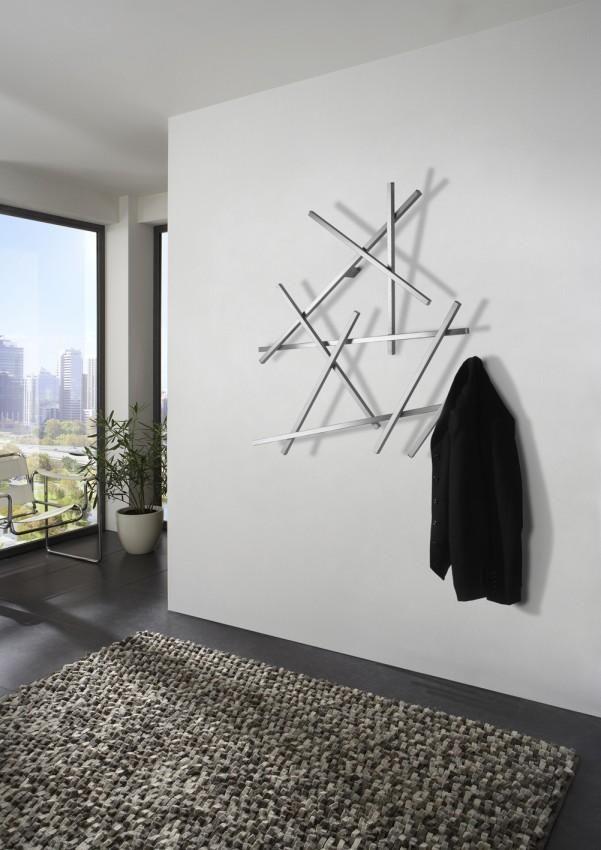 Garderobe Wandgarderobe Matches Klein Edelstahl Von Spinder Design