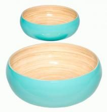 """Blue Lacquered Salad Bowl Set of Two :: Asian Cups and Bowls """"#wedding #invitations  #dinnerware #weddinglist #glassware #party #kitchenware #stylish #beautifull #china,#gifts,#favors,#luxery, #porcelaindinnerware, #party,#cristal,#like4like, #ornaments #favors, #chic #engagement,#barware #wedgewood,#linkinprofile"""""""