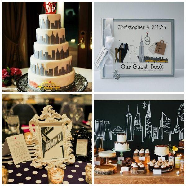 The News - New York Themed Wedding Styling and Moodboard | UK Wedding ...