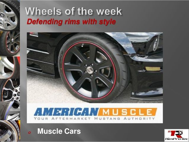 America Muscle know how to style with rimpro-tec wheel bands
