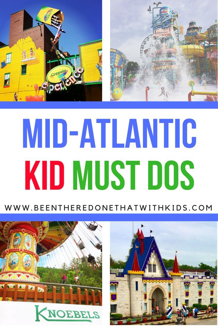 Mid-Atlantic things to do with kids
