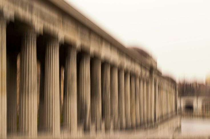 Fine Art Fotografie : Berlin - unscharfe Ansichten