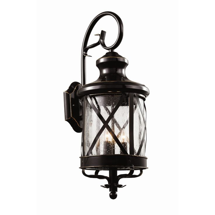 Shop Wayfair for Outdoor Wall Lighting to match every style and budget. Enjoy Free Shipping  sc 1 st  Pinterest & 55 best Lighting images on Pinterest | Outdoor walls Farmhouse ... azcodes.com