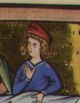 Mainzer Evangeliar, Phrygische Mütze