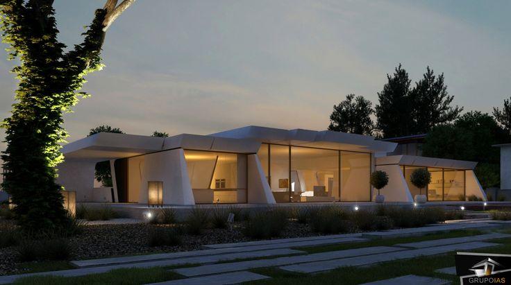Diseño vivienda unifamiliar moderna  http://grupoias.es/blog/diseno-de-viviendas/arquitectura-de-diseno-en-viviendas-unifamiliares/