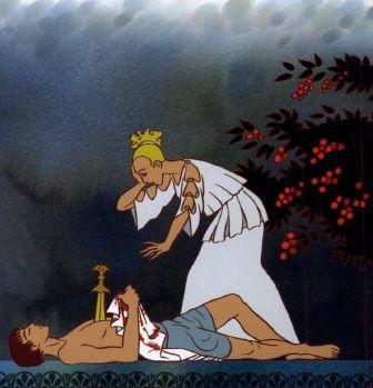Pyrame et Thisbé - mythologie.