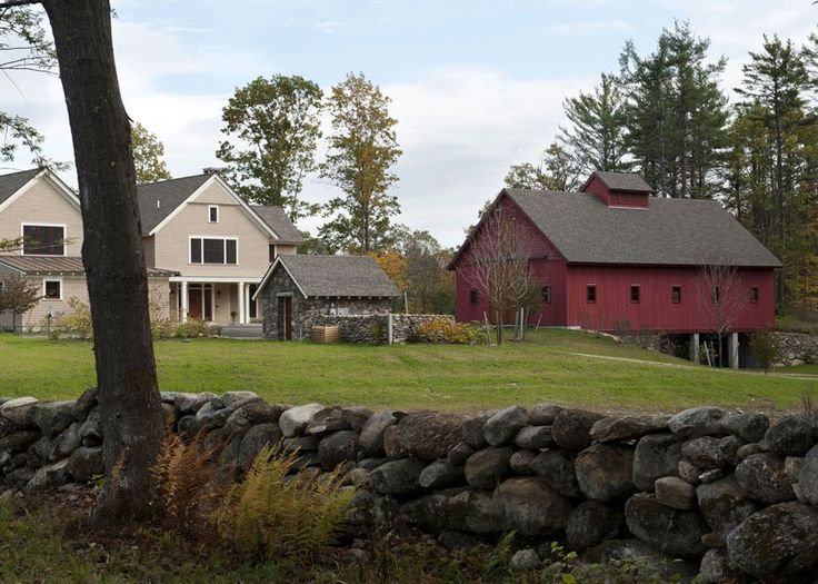 New Hampshire Retreat | Peterborough, NH | The Entrance Courtyard