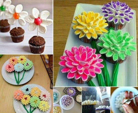 Cake Decorating Marshmallow Flowers : 25+ Best Ideas about Marshmallow Flowers on Pinterest ...