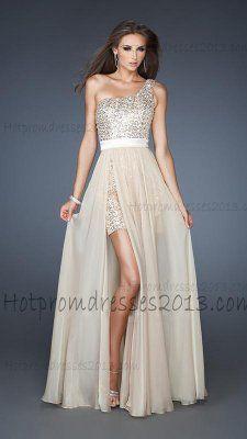 Off white prom dress