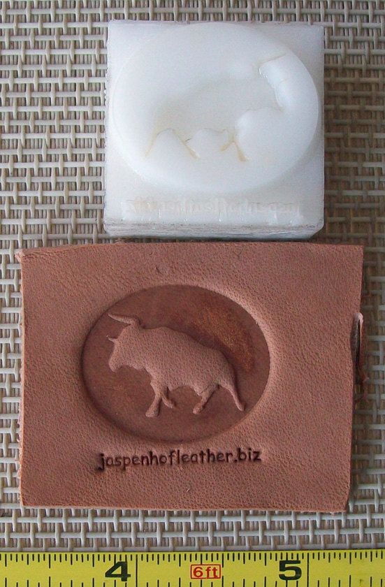 Leather Embossing Dies up to 1.5 от CustomMadeStuff на Etsy