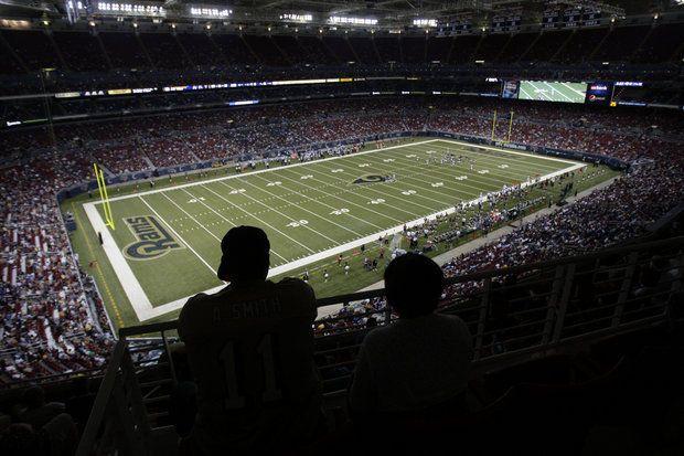 Pittsburgh Steelers vs. St. Louis Rams: How empty is the Edward Jones Dome? -  By Jacob Klinger | jklinger@pennlive.com  -  on September 27, 2015 at 1:01 PM -   St. Louis Rams Edward Jones Dome