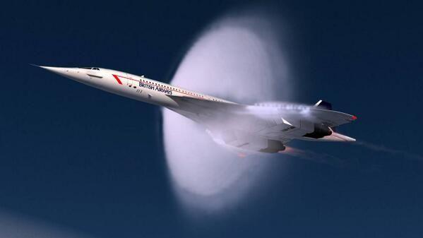 Concorde. Sonic boom