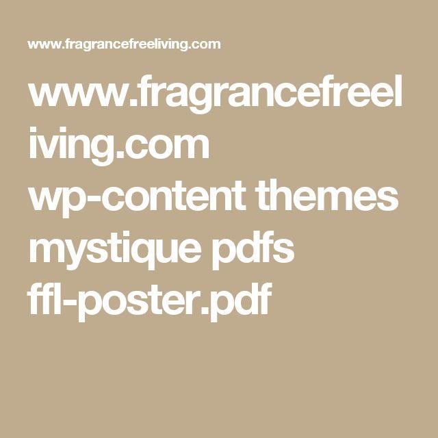 www.fragrancefreeliving.com wp-content themes mystique pdfs ffl-poster.pdf