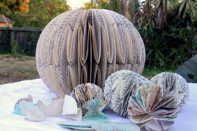 Paper Ball Ornaments - Tutorial