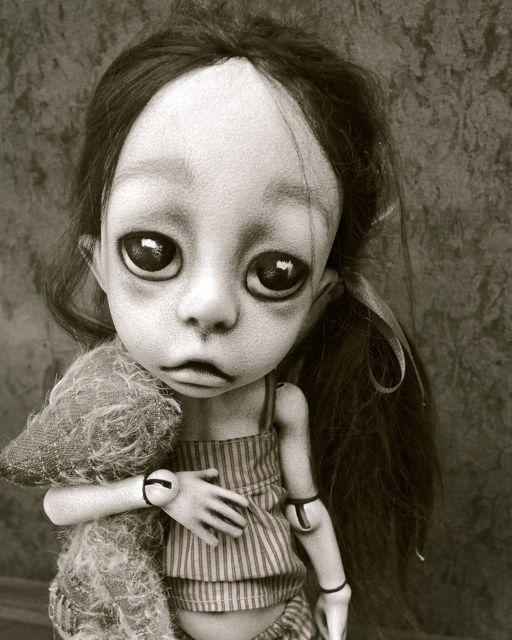 Dark Alley Gothic Art Doll Fine Art Giclee Print. by DarkAlley