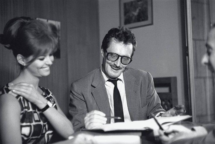 Claudia Cardinale e Pietro Germi - 1959