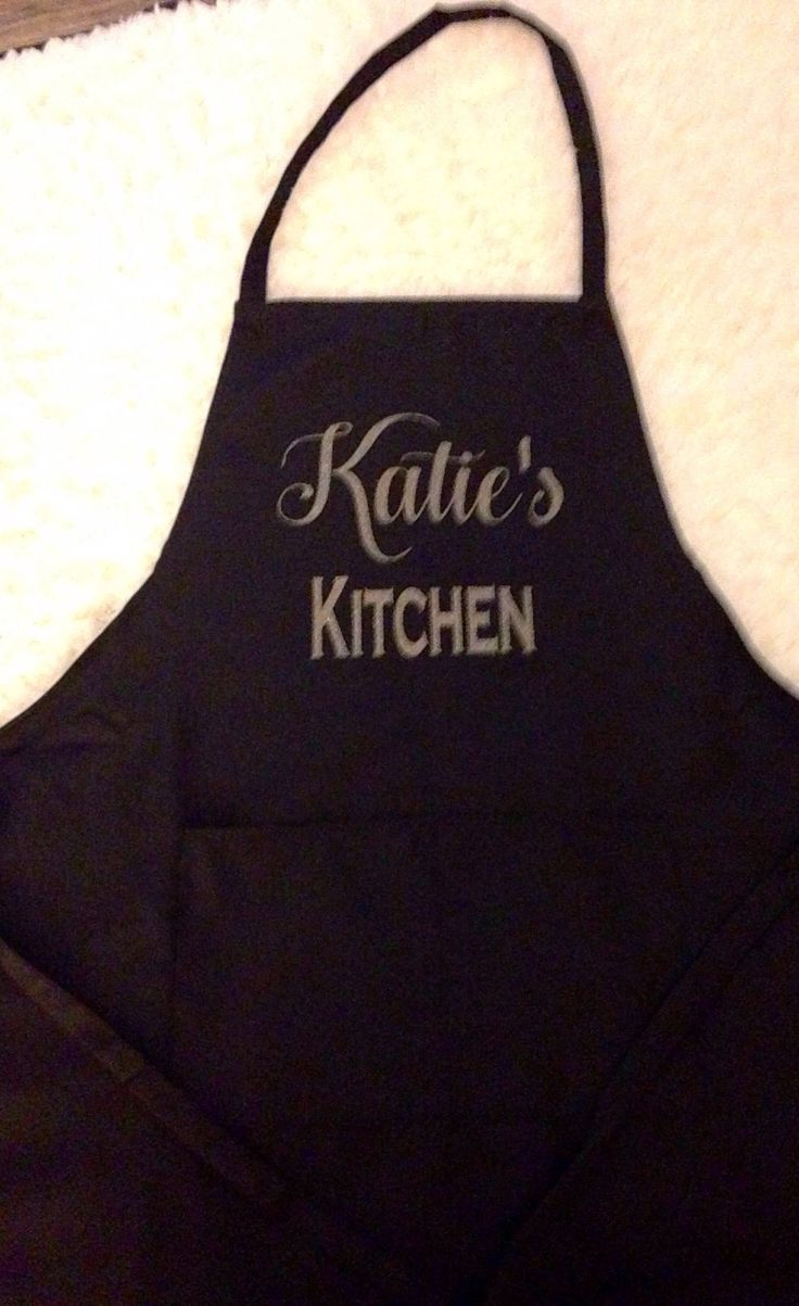 A personal favorite from my Etsy shop https://www.etsy.com/listing/572503565/personalized-apron-custom-apron-chef