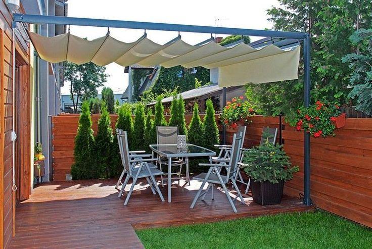 Alu Terrassenüberdachung und elektronisch ausfahrbarer beschattung - auswahl materialien terrassenuberdachung