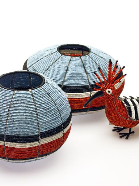 Wire & bead bowls - Streetwires