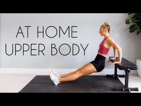 15 min bodyweight upper body workout at home no equipment