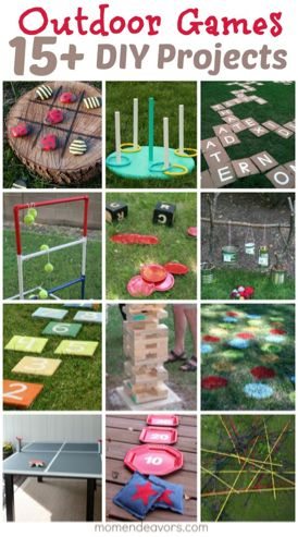 DIY Outdoor Games -Perfect for Backyard Fun