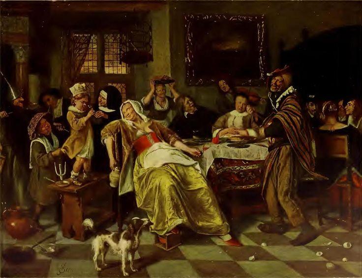 JAN STEEN 1626-1679 – Kunstmuseum Hamburg kunstmuseum-hamburg.de1200 × 923Buscar por imagen Jan Steens Gemälde sind meist nicht nur künstlerisch hervorragend und anziehend, sondern auch im Gegenstand unterhaltend, denn er ist mehr als Maler, er ist nebenbei Humorist und Satiriker. Und diese Eigenschaft zieht