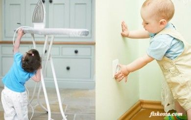 Çocuklarda ev kazaları...