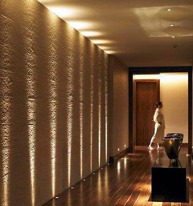 Decoraci n pasillos y recibidores consejos de iluminaci n - Iluminacion indirecta led ...