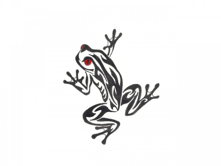 Tribal frog. For sister | Tattoo ideas | Pinterest | Frogs ...
