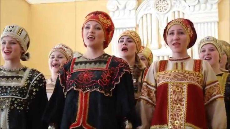 """Ансамблевое пение группы """"Купель"""" Ивановсакого музучилища"""
