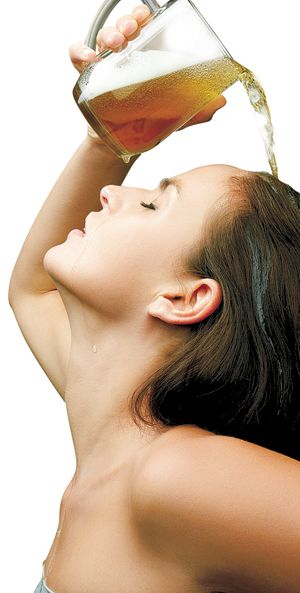 Pour on a cold one. aDIY, natural skin care