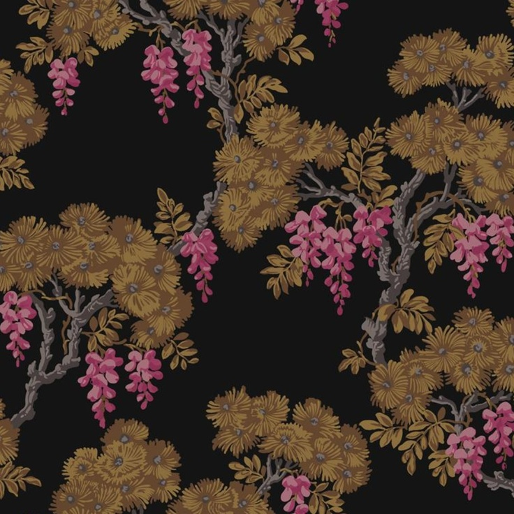 Cole & Son wisteria wallpaper