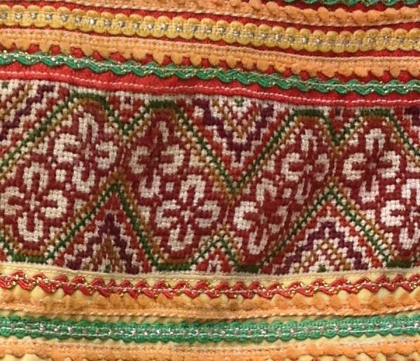Ethnic Hmong fabric