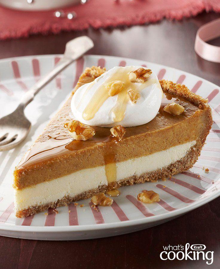 Maple-Pumpkin Pie #recipe
