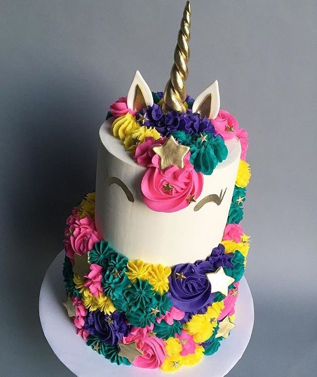 Bright  Tier Kids Animal Cake